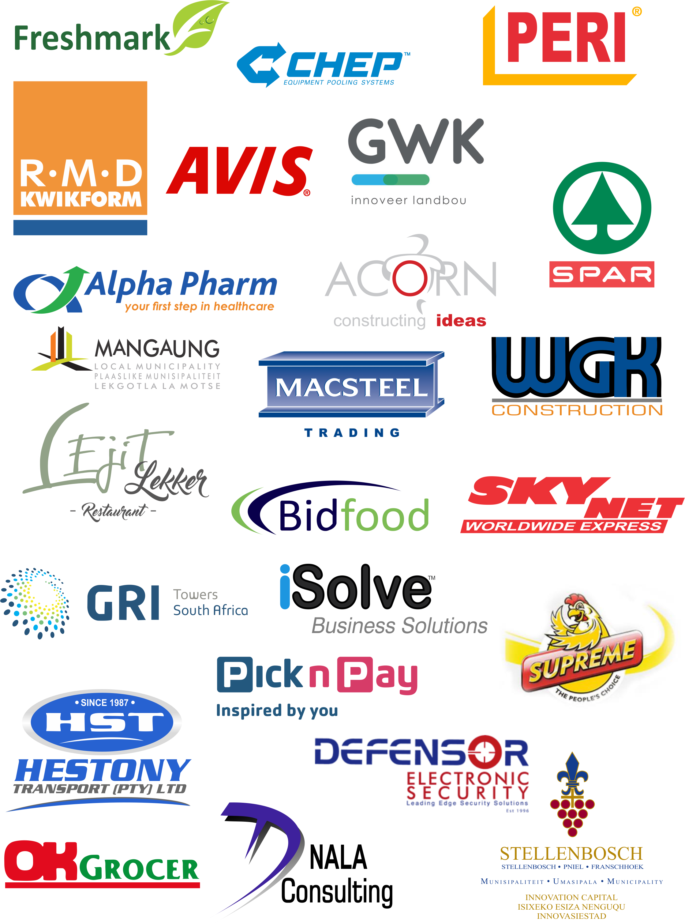 Just some of the happy clients that CPI World has